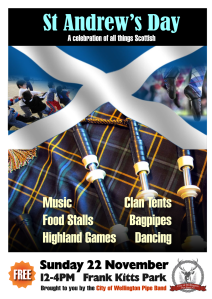 St Andrew's Day 2015 poster
